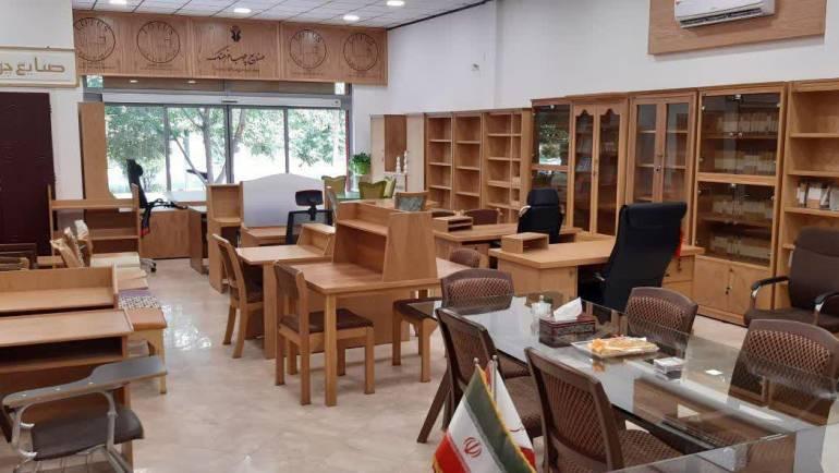 افتتاح دفتر جدید صنایع چوب فرهنگ در شهر قم